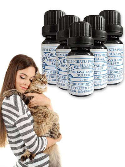 10 Bottles of 10 ml for Pets
