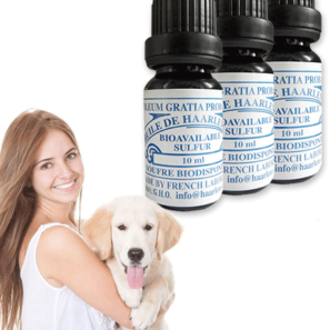 3 Bottles of 10ml for Pets