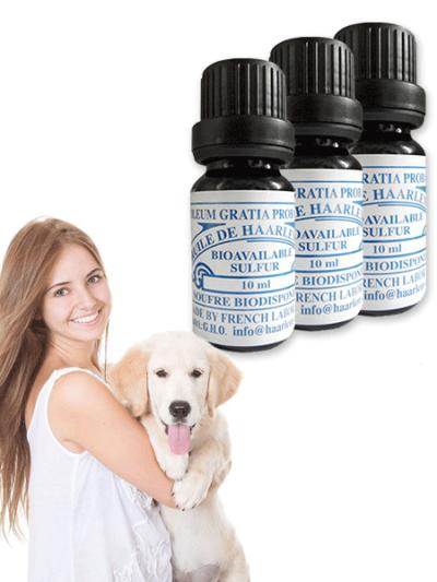 3 Bottles of 10 ml for Pets